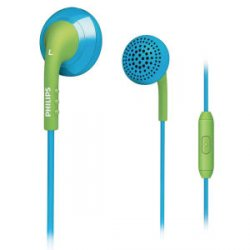 Philips Universal In-Ear Headset: Blue and Green für nur €4.39 statt €24,99 inkl. versand @thehut