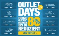 Planet Sports | Outlet Days nur bis zum 23.06 – Lieblings Marken bis zu 80% reduziert +10€ Rabatt ab MBW 50€