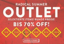 Radical Summer Outlet – bis zu 70% Rabatt @Frontlineshop