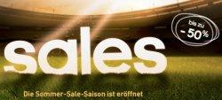 Sommer-Sale mit bis zu 50% Rabatt + Gutscheine @Adidas (z.B. Schuhe für 38€)