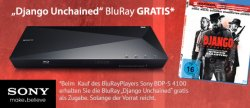 Sony BDP-S4100 Blu-ray-Player + Django Unchained Blu-Ray für 79,99€ @hifishop24.de