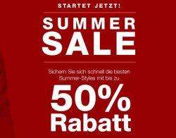 Summer Sale bei Tom Tailor 50% Rabatte möglich