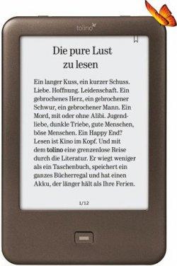Tolino Shine eBook-Reader für 89€ mit Gutschein @Buecher.de