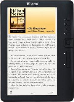 TrekStor eBook Reader 3.0 für 35€ und andere Elektro Schnäppchen @TrekStor