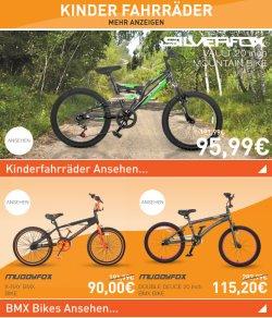 Viele Fahrräder/-zubehör radikal reduziert – z.B. Mountain Bike für 95,99€ @Sportsdirect