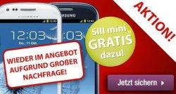 [Vodafone] Allnet Flat + Internet Flat für 14,99€ mtl. + Samsung Galaxy S3 mini kostenlos! @getmobile