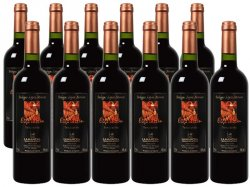 WEINVORTEIL.de –  Verführerischer spanischer Rotwein 2,50€ statt 5,99€ /Flasche im 12-er Paket