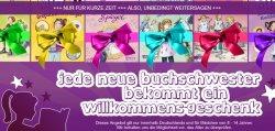 Willkommensgeschenk auf dem Portal www.buchschwestern.de