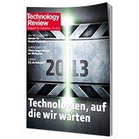 1 Ausgabe Technology Review kostenlos statt 8,90€! – selbst kündigend!
