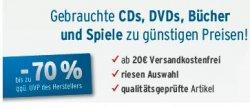 10% Gutschein auf gebrauchte CDs, DVDs, Bücher und Spiele @Medimops