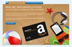 10€ Amazon Geschenkkarte kostenlos für RWE Kunden!