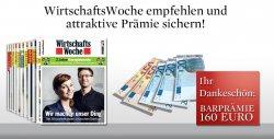 12 Monate Wirtschaftswoche für eff. 78,80€ durch 160€ Verrechnungsscheck bei Freundschaftswerbung