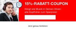 15% Rabatt auf Kopfhörer bei teufel.de + kostenlosen Versand