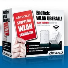 20% Rabatt auf ausgewählte devolo dLAN Produkte @Notebooksbilliger.de
