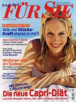 """24 Monate (54 Ausgaben) """"Für Sie"""" für eff. 9,99€ statt 135,20€ @Leserservice.de"""