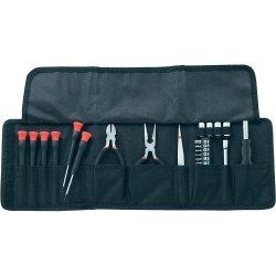 25tlg Elektroniker-, Werkzeugset in Tasche für 5€ kostenloser Versand @ conrad ebay