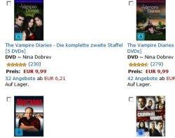 3 DVD Sets von TV-Serien zusammen für 24€ bei Amazon