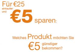 5€ Amazon.de Gutschein (MBW: 25€) in Verbindung mit Facebook
