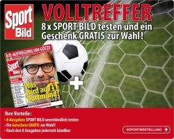 8x Sport Bild mit eff. 1,40€ Gewinn @Lesershop24