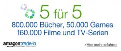Amazon Trade-In: zusätzlich 5€ geschenkt bei einem Eintauschwert von 5€