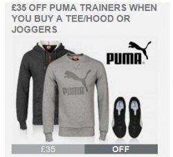 bis zu 50% Rabatt-Aktion auf Puma-Fashion @TheHut