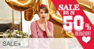 Bis zu 50% Rabatt im Sale bei Strauß + Gutscheine