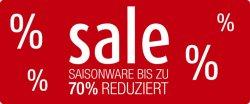 Bis zu 70% bei Galeria – Kaufhof + 10% Rabatt Extra (auch auf reduzierte Artikel)