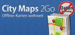 City Maps 2Go Offline-Karten App Gratis auf die Por App upgraten (Android)