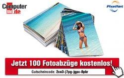 Computer Bild und Pixelnet verschenken 100 Fotoabzüge im Premium-Format