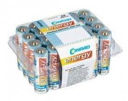 Conrad Energy Alkaline Mignon-Batterien, 24er-Set für 0,90€! (MBW: 15€) @Conrad