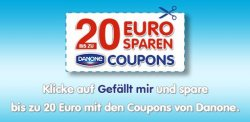 Danone Gutscheine im Wert von 20€