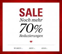 Esprit Sale – jetzt bis zu 70% reduziert + 10% Gutschein
