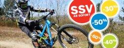 Fahrrad und Zubehör Sommerschlussverkauf auf bike-discount.de bis 60% Rabatt