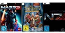 Games-Downloads – Deal des Woche: Mass Effect 3 & Die Siedler 7 für PC & MAC ab 3,97€ @Amazon