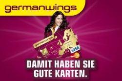 Germanwings Kreditkarte Gold für 1 Jahr komplett kostenlos + Prämien und Vorteile
