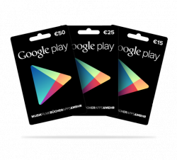 Geschenkkarten für Google Play nun auch in Deutschland erhältlich