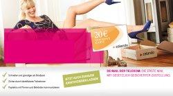 Gratis 20€ Zalando Gutschein (ohne MBW!) für die Registrierung bei De-Mail!
