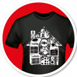 Gratis Bacardi-T-shirts beim Kauf von 3 Bacardi-Mix-Dosen
