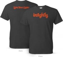 Gratis T-Shirt von Insightly