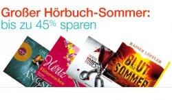 Großer Hörbuch Sommer – 400 Hörbücher mit bis zu 45% Rabatt.  @amazon
