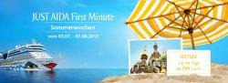 JUST AIDA First Minute: Kreuzfahrten mit Aida schon ab 399€