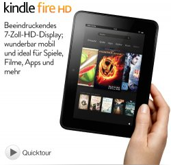 Kindle Fire HD Modelle bei amazon 30€ reduziert