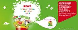 Kostenlose toll gefüllte Schultüte für Erstklässler bei Rewe