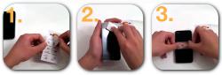 kostenloses Reinigungspad für Smartphone @ fairtest.net