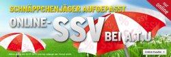 Online-SSV — Fahrräder, Grill, Zelt,…  + 5€ Gutschein @A.T.U