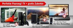 Redcoon | Gratis Elektro-Sachen (-Zubehör) beim Kauf eines Fernseher! (schon für 379€!)