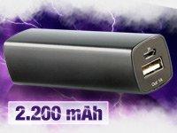 revolt Powerbank 2.200 mAh für 4,90€ inkl. Versand statt 29,90€! @Pearl