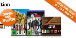 Saturn online – 3 DVD TV Serien für 24€