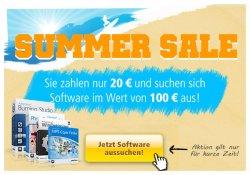 Summer Sale: Softwares im Wert von 100€ für nur 20€ kaufen @Ashampo
