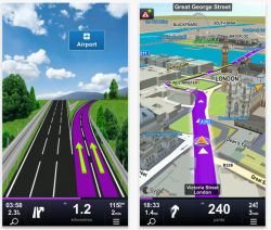 Sygic Europa & Russland: GPS-Navigation App – 16,99€ statt 59,99€ bzw, 49,99€ für iOS